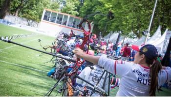 Продолжается чемпионат мира по стрельбе из лука среди спортсменов имеющих инвалидность.