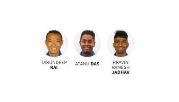 На чемпионате мира по стрельбе из лука Индийская мужская команда сенсационно выиграла у Канадцев