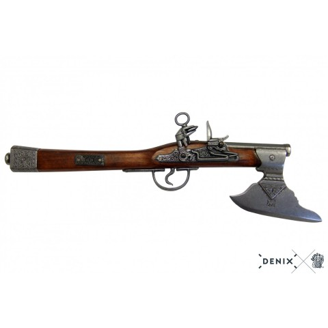 Пистолет-топор, Германия, XVII в.