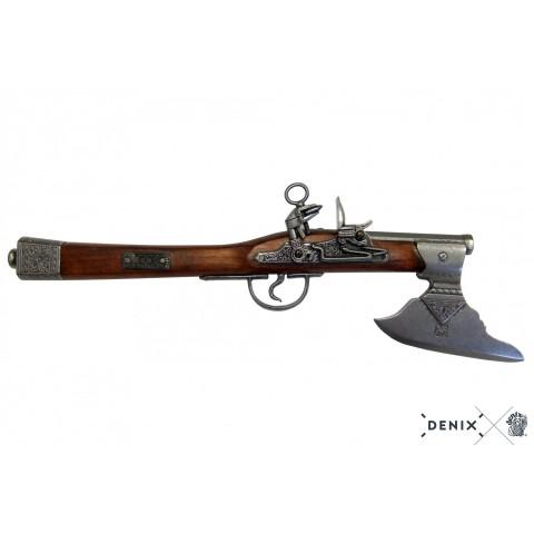Пістолет-сокира, Німеччина, XVII ст.