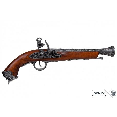 Пиратский кремневый пистолет, Италия, XVIII в.