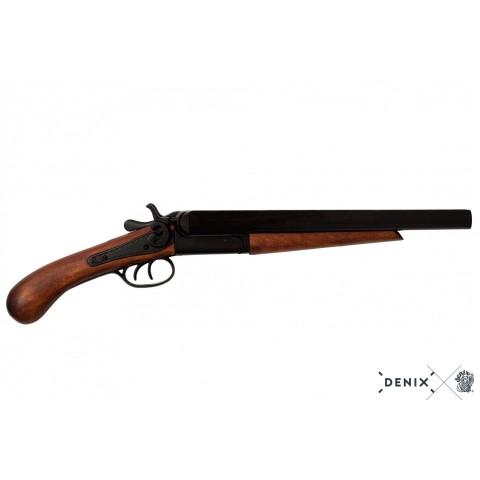 Двуствольный пистолет, США, 1868 г.