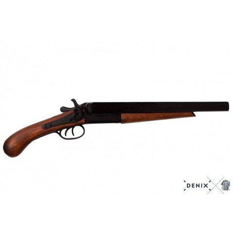 Двоствольний пістолет, США, 1868 р.