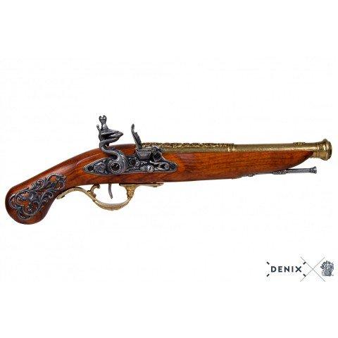 Кремневый пистолет, Англия, XVIII в.