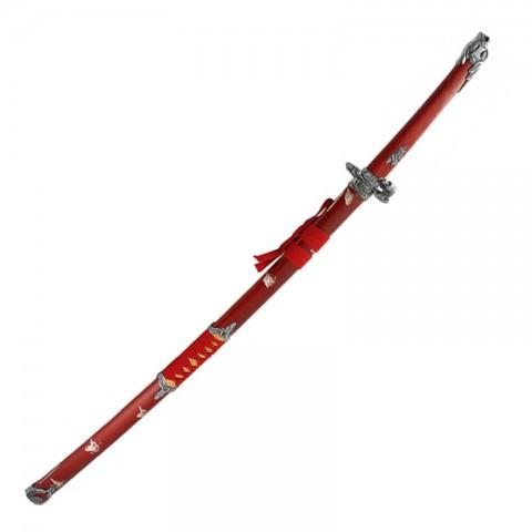 Катана Красная Змея 146474