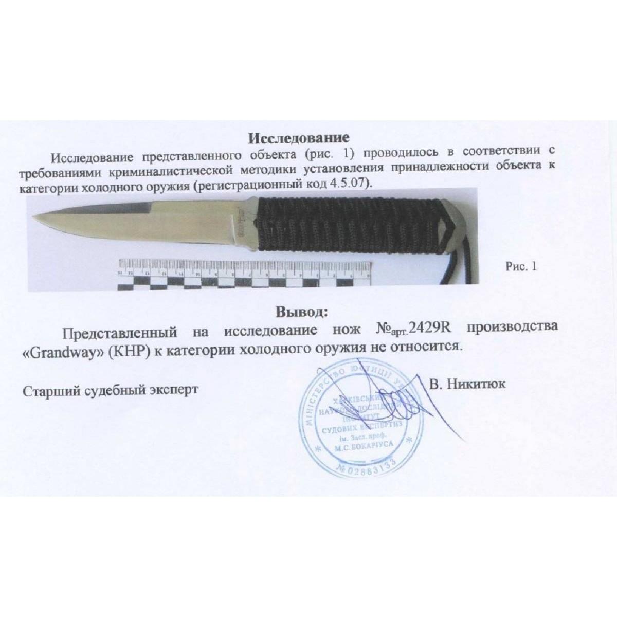 Нож 2429 R