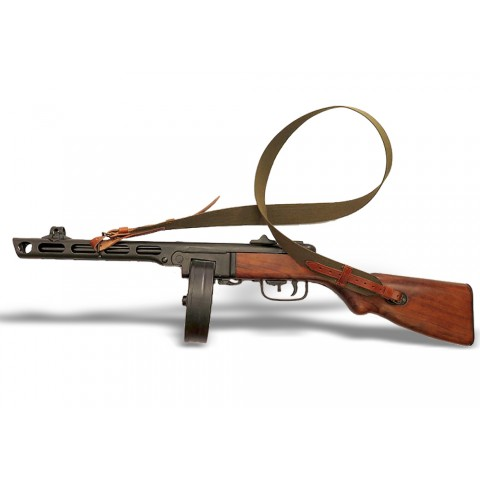 Автомат ПКШ (пістолет-кулемет Шпагіна) з ременем, ММГ копія