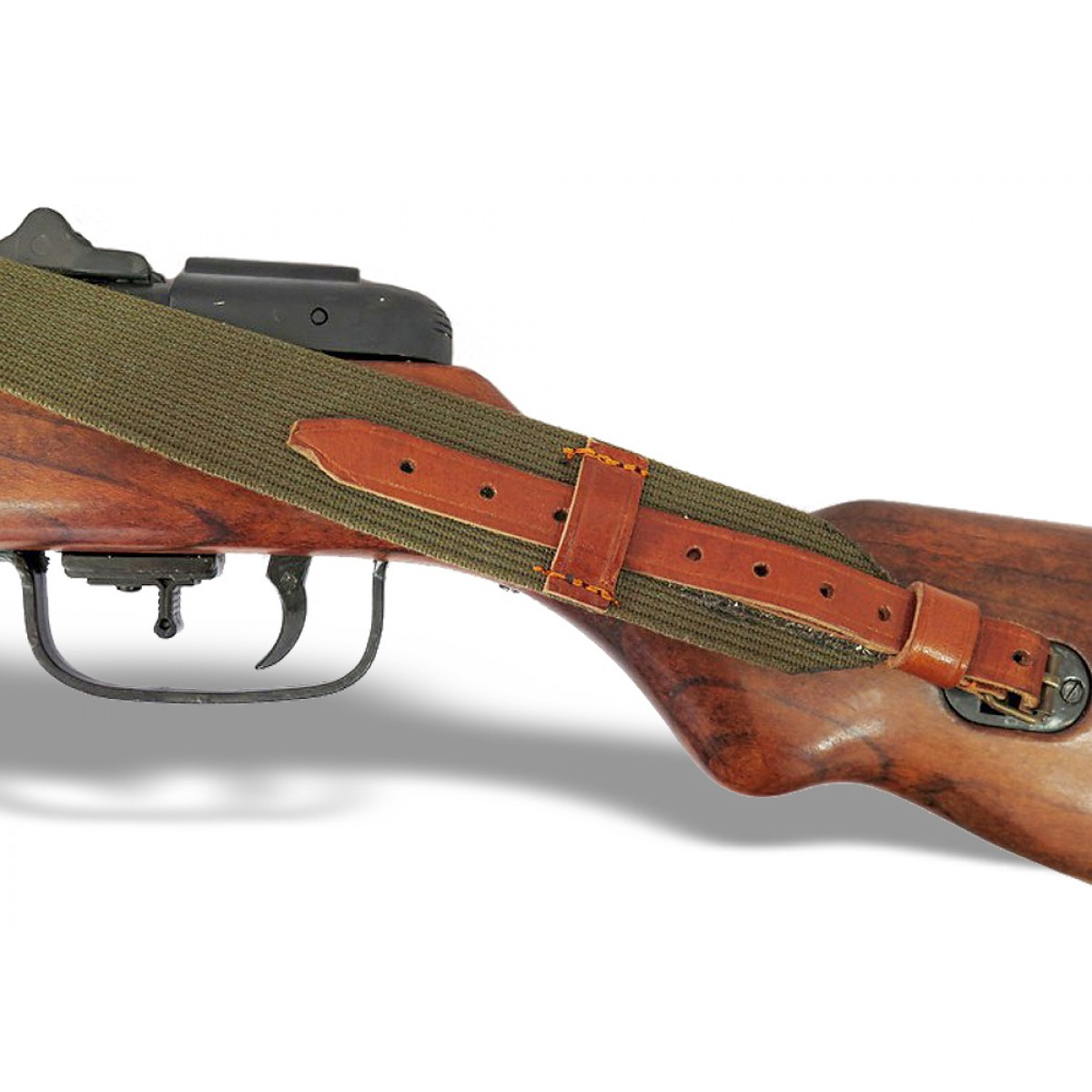 Автомат ППШ (пистолет-пулемёт Шпагина) с ремнём, ММГ копия