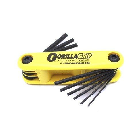Набор шестигранников Bondhus Allen Wrench Set Folding Large Inches