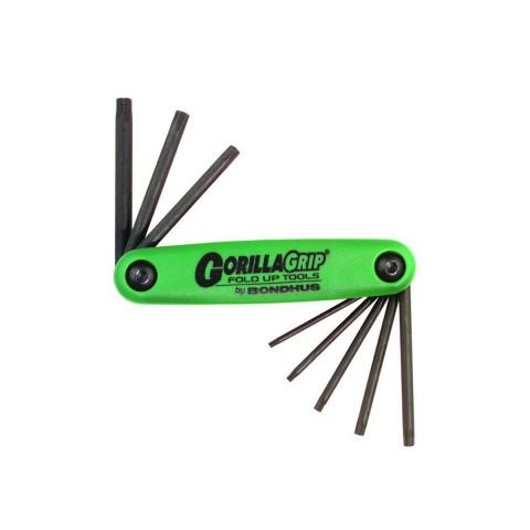 Набор шестигранников Bondhus Torx Wrench Set T6-T25