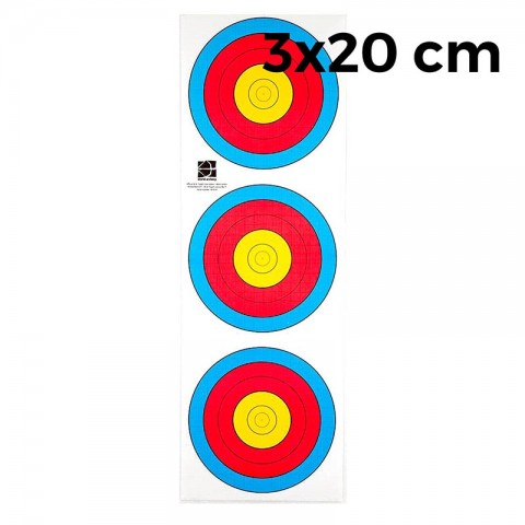 Мишень JVD Fita 3х20 (10 штук)