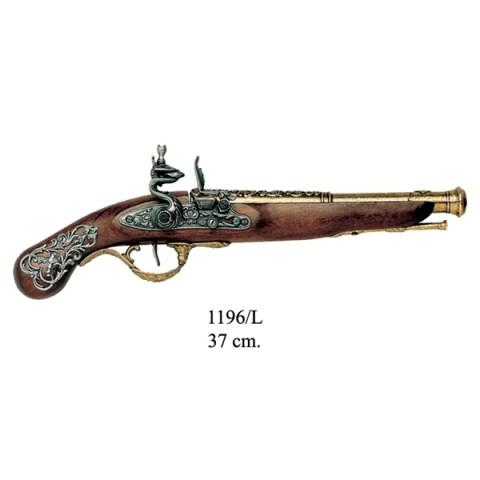 Пистолет кремниевый, Англия XVIII ст., ММГ копия