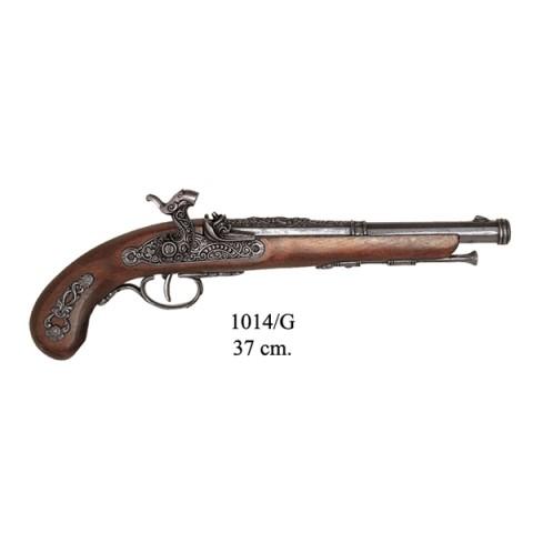 Пистолет кремниевый, Франция 1872г., ММГ копия