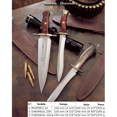 "Нож ""Muela"" CHEVREUIL-22SR"