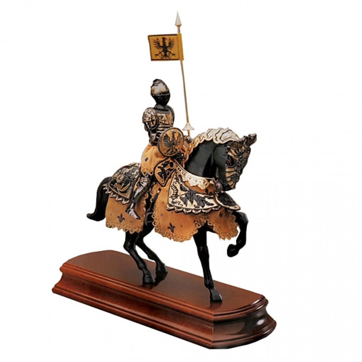 Статуэтка Всадник Черный рыцарь