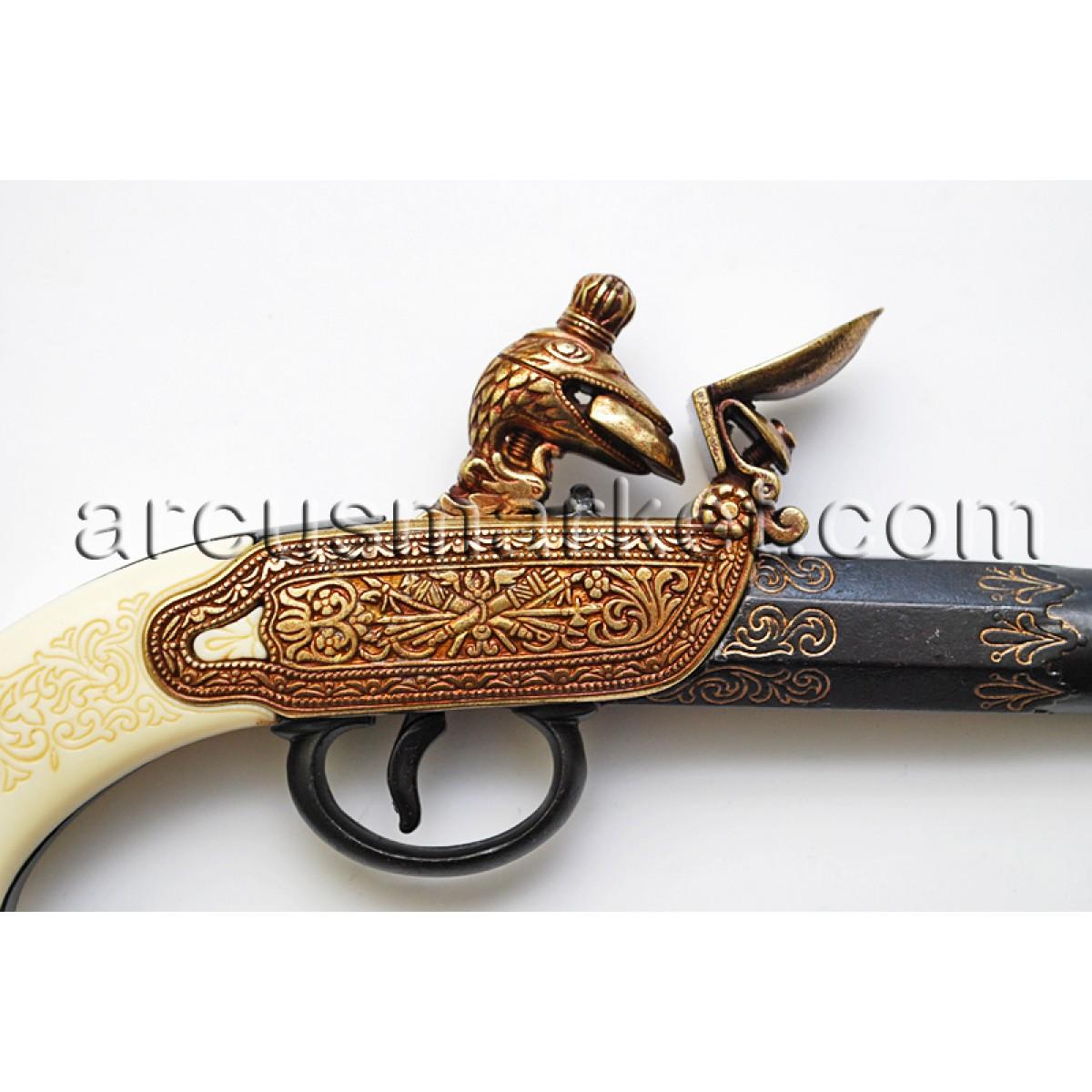 Пистолет  Тульских мастеров нач.XVIII ст., ММГ копия