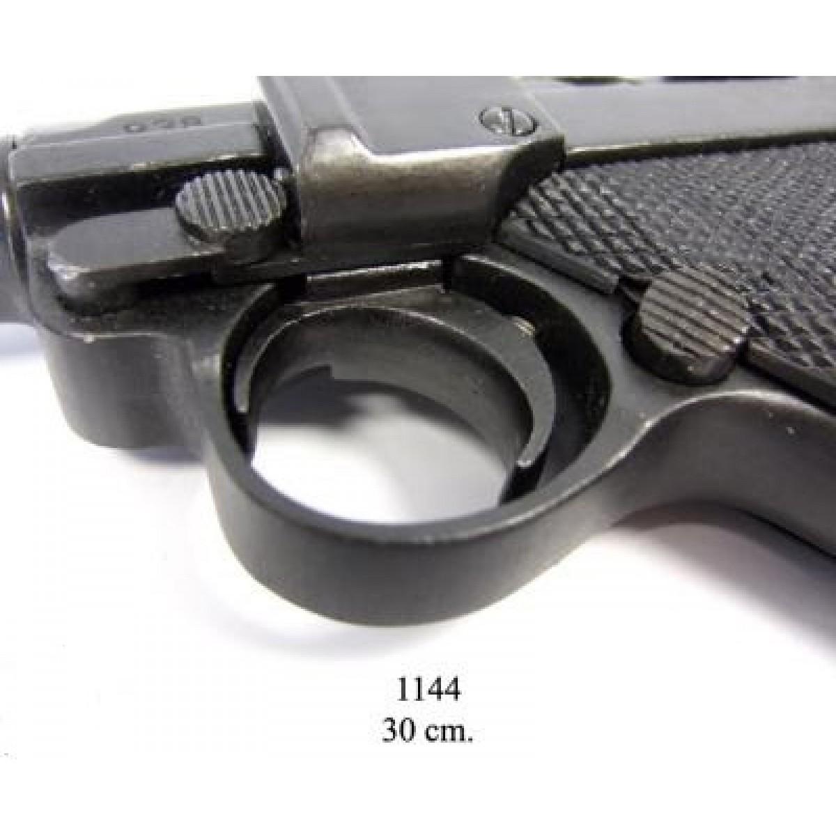 Пистолет Люгер P 08 удлиненный 30 см, ММГ копия