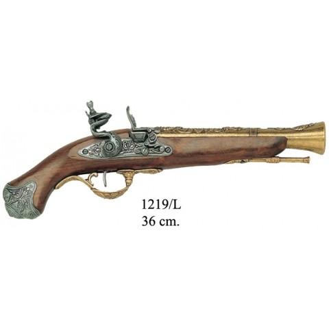 Пистолет кремниевый,  Лондон,  XVIII ст., ММГ копия