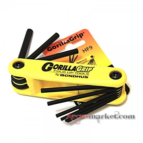"Набор шестигранников Bondhus ""Allen Wrench Set Folding"" Large Inches"