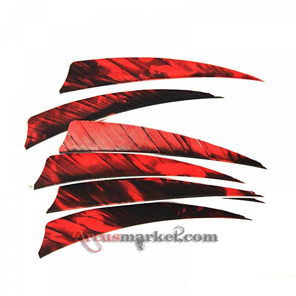 "Перо Gateway Feather 4"" Shield RW Camo"