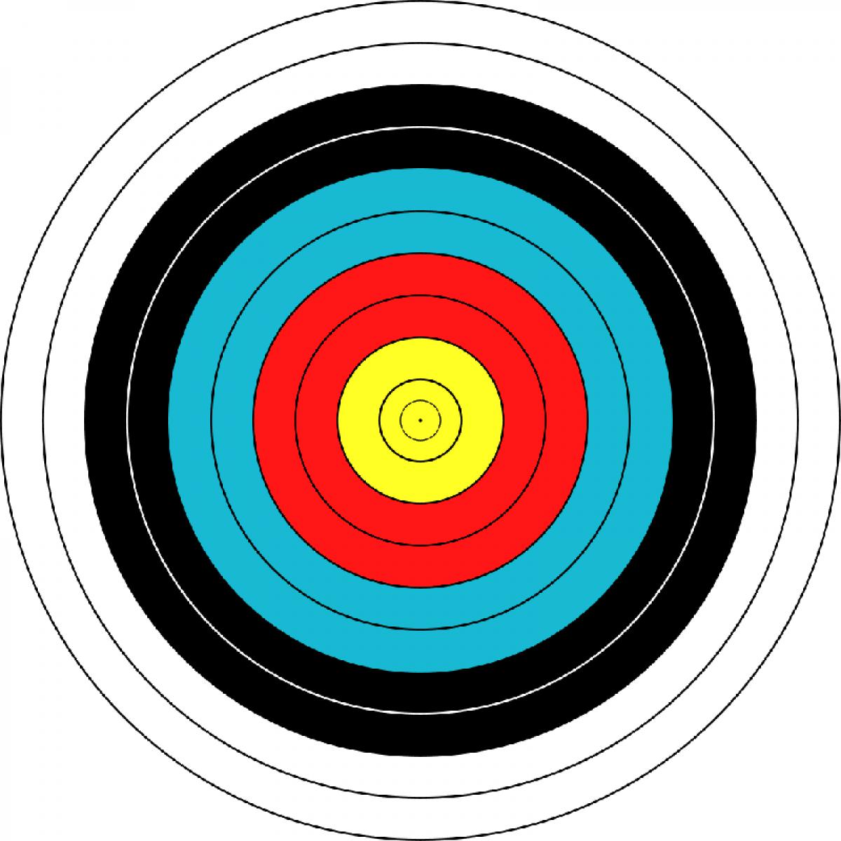 "Мишень JVD ""Target Fase Fita"" 60"
