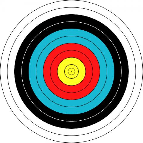 "Мишень JVD ""Target Fase Fita"" 122"