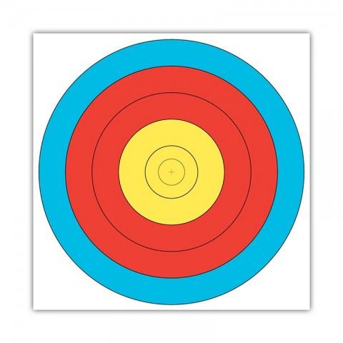 """Мишень JVD """"Target Fase Fita"""" 80 Centre 5-Ring"""
