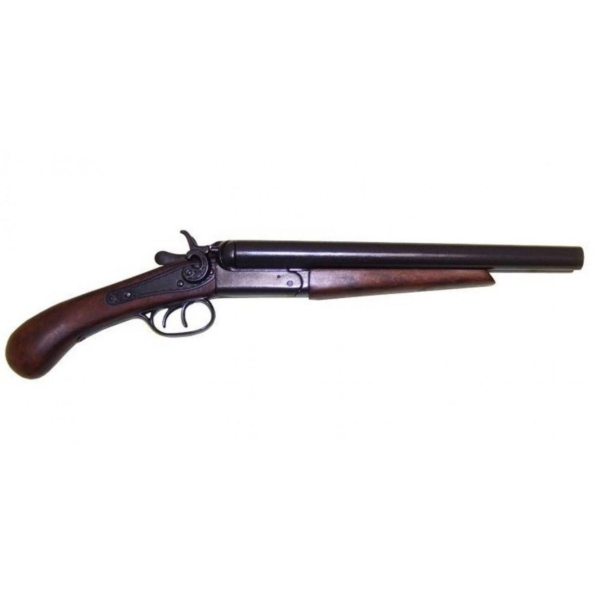 Двуствольное укороченное ружье, США, 1881 г. , ММГ копия