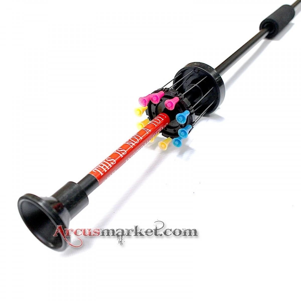 Духовая трубка MK-100A-40, алюминий, 100см
