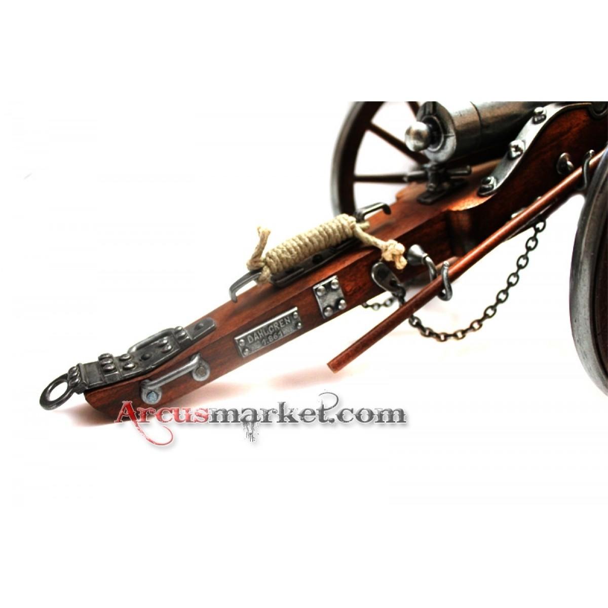 Пушка артиллерийская.Гражданская война 1861 год, США, 38 см.