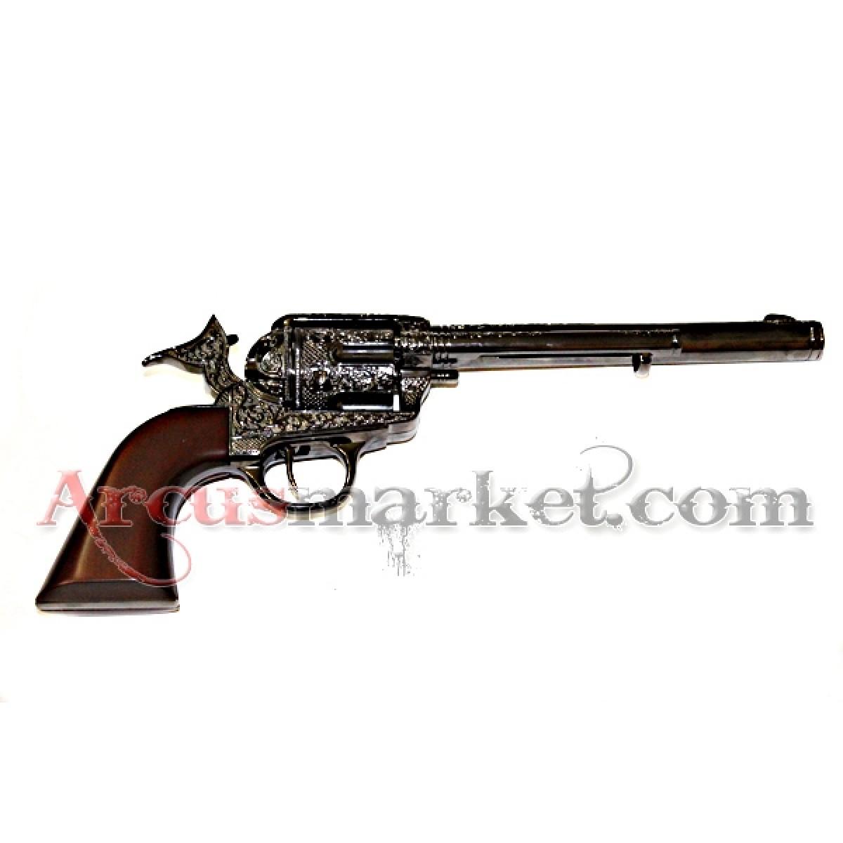 Револьвер кавалерийский темный, ММГ копия