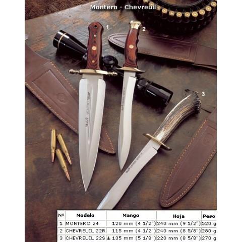 Нож Muela CHEVREUIL-22SR