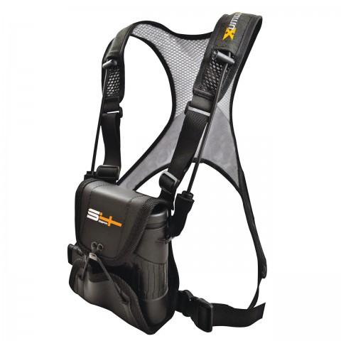 """Сумка для бінокля S4 """"LockDownX Binocular Harness Black Micro"""""""
