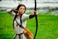 Как целиться из традиционного лука