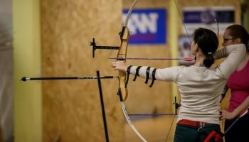 Обучение стрельбе из лука. Часть 1
