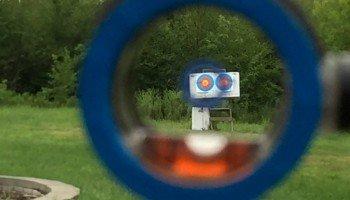 Пристреливаем прицел для лука